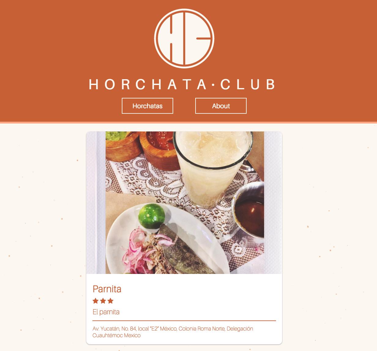 Horchata.club