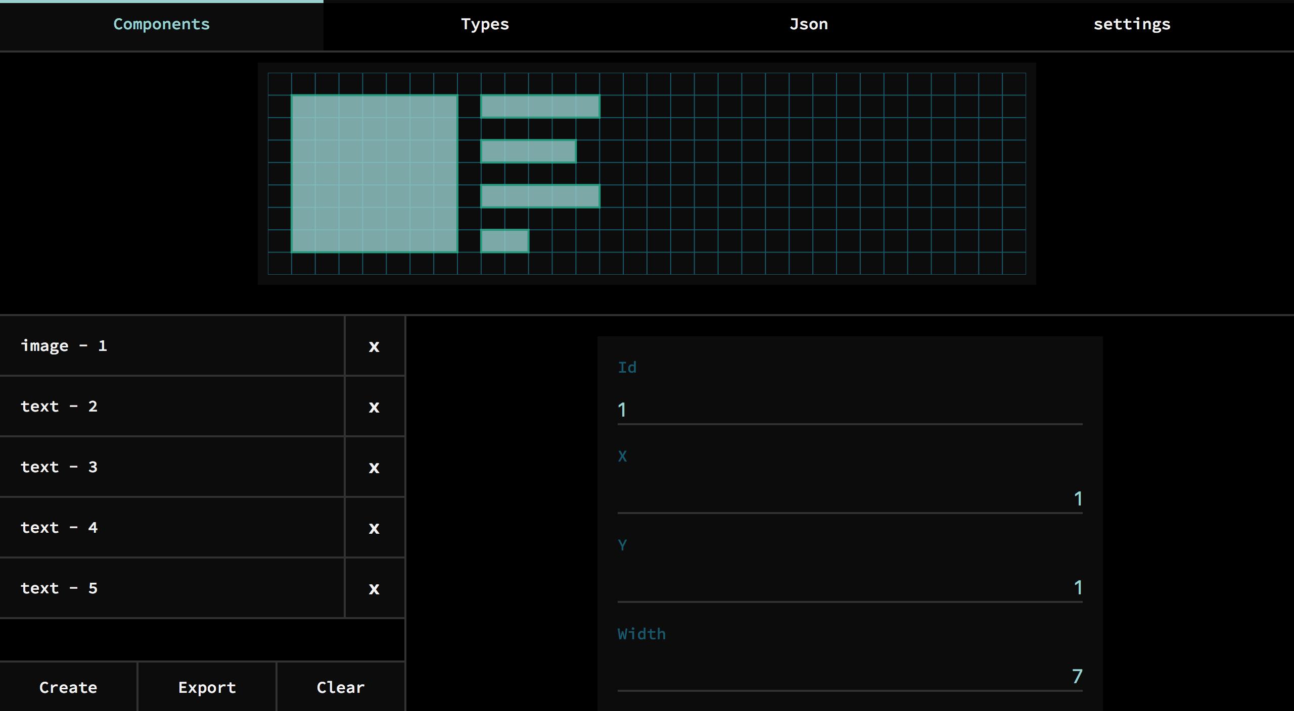 Grid-JSON-Editor